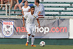 08 July 2015: Fort Lauderdale's Ivan Guerrero (HON). The Carolina RailHawks hosted the Fort Lauderdale Strikers at WakeMed Stadium in Cary, North Carolina in a North American Soccer League 2015 Fall Season match. The game ended in a 1-1 tie.