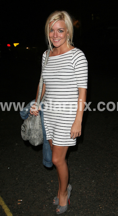 **ALL ROUND PICTURES FROM SOLARPIX.COM**.**WORLDWIDE SYNDICATION RIGHTS**.Sheridan Smith throws party to celebrate his performance in the West End Musical 'Priscilla Queen of the Desert at Zebrano, 18 Greek Street, London on Wednesday 9 September 2009. The Musical' 95.8 Capital FM Drivetime Host and popular stand up comedian has drinks, celebrating with friends in Soho after his show..This pic:  Jeremy Edwards.JOB REF:  9914   LNJ     DATE:  08.10.09.**MUST CREDIT SOLARPIX.COM OR DOUBLE FEE WILL BE CHARGED**.**MUST NOTIFY SOLARPIX OF ONLINE USAGE**.**CALL US ON: +34 952 811 768 or LOW RATE FROM UK 0844 617 7637**