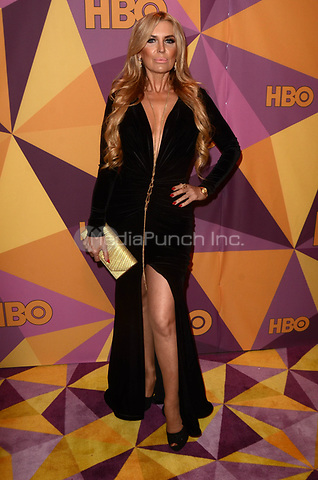BEVERLY HILLS, CA - JANUARY 7: Sandra Vidal at the HBO Golden Globes After Party, Beverly Hilton, Beverly Hills, California on January 7, 2018. Credit: <br /> David Edwards/MediaPunch