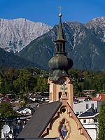 Johanneskirche in Imst. Tirol, &Ouml;sterreich, Europa<br /> Church St. Johannes, Tyrol, Austria, Europe