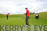 Raymond Kelly Tralee, Cillian Towmney Killarney, Senna Carroll Ballybunnion (L_R).Kerry Boys Co Championship at Ballybunnion Golf Club on Friday 16 July