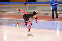 SPEEDSKATING: SALT LAKE CITY: 06-12-2017, Utah Olympic Oval, ISU World Cup, training, Yun Huang (TPE), photo Martin de Jong