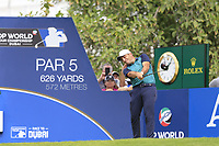 Francesco Molinari (ITA) on the 14th fairway during the 3rd round of the DP World Tour Championship, Jumeirah Golf Estates, Dubai, United Arab Emirates. 17/11/2018<br /> Picture: Golffile | Fran Caffrey<br /> <br /> <br /> All photo usage must carry mandatory copyright credit (© Golffile | Fran Caffrey)