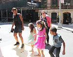 Hearts of Gold Back To School event for mothers and their children to receive back packs and school supplies on August 26, 2017 - NYC (Photo by Sue Coflin/Max Photos)