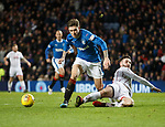 Jason Naismith tackles Josh Windass in the box