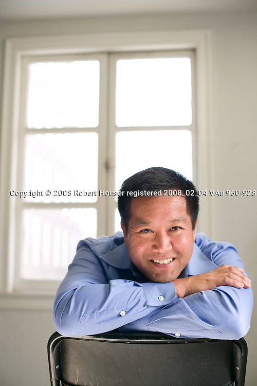Rand Morimoto - President and CEO - Convergent Computing: Executive portrait photographs by San Francisco - corporate and annual report - photographer Robert Houser.