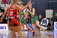 Pulse' Katrina Rore in action during the ANZ Premiership - Pulse v Tactix at Fly Palmy Arena, Palmerston North, New Zealand on Sunday 10 March 2019. <br /> Photo by Masanori Udagawa. <br /> www.photowellington.photoshelter.com