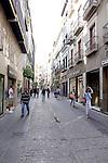 Street scene in Granada, Spain