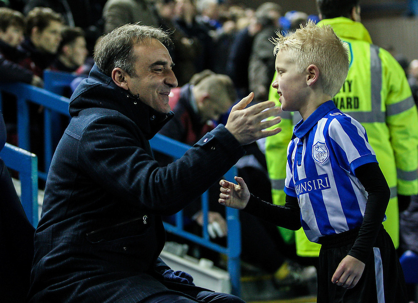 Sheffield Wednesday manager Carlos Carvalhal <br /> <br /> Photographer Alex Dodd/CameraSport<br /> <br /> Football - The Football League Sky Bet Championship - Sheffield Wednesday v Burnley - Tuesday 2nd February 2016 - Hillsborough - Sheffield<br /> <br /> &copy; CameraSport - 43 Linden Ave. Countesthorpe. Leicester. England. LE8 5PG - Tel: +44 (0) 116 277 4147 - admin@camerasport.com - www.camerasport.com