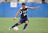 Florida International University men's soccer player Lucas Di Croce (10) plays against Stetson University on September 10, 2011 at Miami, Florida.  FIU won the game in overtime 3-2. .