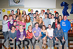 21ST BASH: Kevin Brosnan, Killeen Road, Tralee (seated centre) celebrating his 21st birthday in the Austin Stacks GAA clubhouse, Connolly Pk with friends and family on Saturday night.