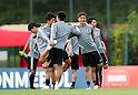 Soccer: Japan National Team Training Session