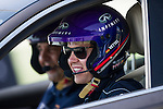 Infiniti Red Bull Racing driver and four-time World Champion Sebastian Vettel drives Infiniti Q50