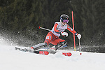 10.03.2018, Ofterschwanger Horn, Ofterschwang, GER, Slalom Weltcup in Ofterschwang, im Bild Kristin Lysdahl (NOR, #50)<br /> <br /> Foto &copy; nordphoto / Hafner