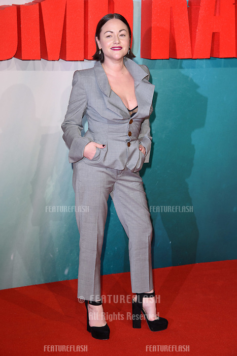 Jaime Winstone at the &quot;Tomb Raider&quot; European premiere at the Vue Leicester Square, London, UK. <br /> 06 March  2018<br /> Picture: Steve Vas/Featureflash/SilverHub 0208 004 5359 sales@silverhubmedia.com