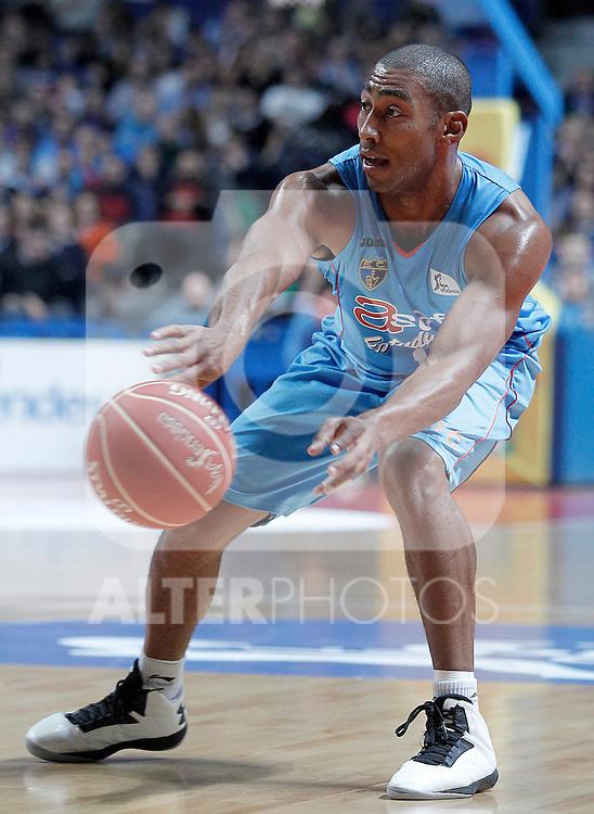 Asefa Estudiantes' Jayson Granger during Liga Endesa ACB match.November 11,2012. (ALTERPHOTOS/Acero)