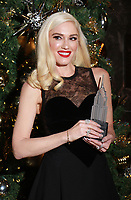 Gwen Stefani at the Empire State Building Holiday Lighting Ceremony