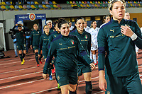 20200307  Parchal , Portugal : Italian midfielder Marta Mascarello (15) pictured before the female football game between the national teams of New Zealand called the Football Ferns and Italy , called the Azzurre on the second matchday of the Algarve Cup 2020 , a prestigious friendly womensoccer tournament in Portugal , on saturday 7 th March 2020 in Parchal , Portugal . PHOTO SPORTPIX.BE | STIJN AUDOOREN