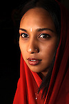 DURBAN - 15 November 2005 - Actress and television personality Jailoshni Naidoo appears in the Coolie Odyssey, a play by Rajesh Gopie that looks at the lives of indentured workers from India, who arrived in Natal to work on the sugar plantations. Picture: Giordano Stolley