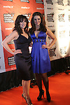 Grainne and Sile Seoige at the Meteor Awards in the RDS...Photo NEWSFILE/Jenny Matthews.(Photo credit should read Jenny Matthews/NEWSFILE)....This Picture has been sent you under the condtions enclosed by:.Newsfile Ltd..The Studio,.Millmount Abbey,.Drogheda,.Co Meath..Ireland..Tel: +353(0)41-9871240.Fax: +353(0)41-9871260.GSM: +353(0)86-2500958.email: pictures@newsfile.ie.www.newsfile.ie.FTP: 193.120.102.198.