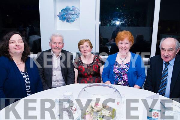 Enjoying the Cromane GAA Club Annual Social in Jacks' Restaurant in Cromane on Friday night.<br /> L-R: Cristina Casey, Pat Joy, Kathleen Joy, Kathleen O'Sullivan &amp; Dan Sullivan.