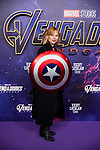 Pilar Castro attends to Avengers Endgame premiere at Capitol cinema in Madrid, Spain. April 23, 2019. (ALTERPHOTOS/A. Perez Meca)