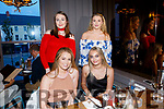 Niamh Green, Fenit celebrates her 19th birthday with friends at No.4 the Square on Friday Pictured Aoife Crowley, Niamh Green, Megan Green and Miren O'Mahony