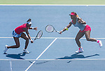 Williams Sisters Compete In Doubles