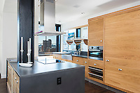 Kitchen at 425 West 50th Street