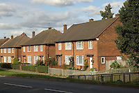 Semi-detached 1950s housing, Harrow, North West London..