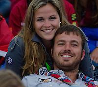 Happy couple.  Photo: Malin Duveblad/Scouterna