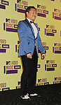 LOS ANGELES, CA - SEPTEMBER 06: Psy  poses in the press room during the 2012 MTV Video Music Awards at Staples Center on September 6, 2012 in Los Angeles, California.