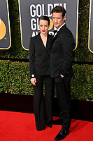 Claire Foy &amp; Matt Smith at the 75th Annual Golden Globe Awards at the Beverly Hilton Hotel, Beverly Hills, USA 07 Jan. 2018<br /> Picture: Paul Smith/Featureflash/SilverHub 0208 004 5359 sales@silverhubmedia.com