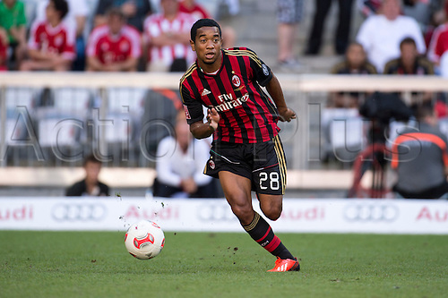 01.08.2013. Munich, Germany.  Urby Emanuelson (Milan) Audi Cup 2013 match between AC Milan 1-0 Sao Paulo FC at Allianz Arena in Munich, Germany.