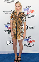 SANTA MONICA, CA - MARCH 3: Margot Robbie at the 2018 Film Independent Spirit Awards in Santa Monica, California on March 3, 2018. <br /> CAP/MPI/SR<br /> &copy;SR/MPI/Capital Pictures