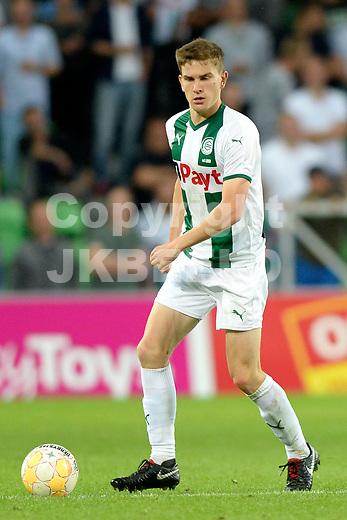 GRONINGEN - Voetbal, FC Groningen - Willem II,  Eredivisie , Hitachi stadion, seizoen 2018-2019, 17-08-2018,   FC Groningen speler Tom van der Looi