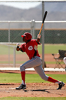 Junior Arias - Cincinnati Reds 2009 Instructional League. .Photo by:  Bill Mitchell/Four Seam Images..