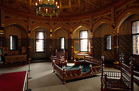 im Castle Coch, Wales, Großbritannien