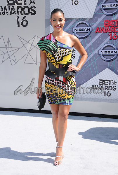 26 June 2016 - Los Angeles. Julissa Bermudez. Arrivals for the 2016 BET Awards held at the Microsoft Theater. Photo Credit: Birdie Thompson/AdMedia