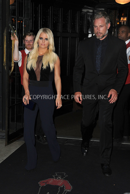 WWW.ACEPIXS.COM<br /> September 9, 2015 New York City<br /> <br /> Jessica Simpson and Eric Johnson were seen leaving a downtown hotel on September 9, 2015 in New York City.<br /> <br /> Credit: Kristin Callahan/AcePictures<br /> <br /> <br /> Tel: (646) 769 0430<br /> e-mail: info@acepixs.com<br /> web: http://www.acepixs.com