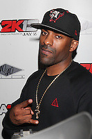NEW YORK, NY - SEPTEMBER 26: DJ Clue  in attendance as JAY Z hosts the premiere of 2K Sports' NBA2K13 at his very own 40/40 nightclub in New York City and enjoying a performance by Meek Mill. 40/40 Club in New York City. September 26, 2012. © Diego Corredor/MediaPunch Inc. /NortePhoto.com