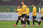 Spiel am 35 Spieltag in der Saison 2019-2020 in der 3. Bundesliga zwischen dem FC Ingolstadt 04 und dem SV Waldhof Mannheim am 24.06.2020 in Ingolstadt. <br /> <br /> Torjubel bei Arianit Ferati (Nr.10, SV Waldhof Mannheim) und Michael Schultz (Nr.23, SV Waldhof Mannheim), das Tor wird aber nicht gegeben<br /> <br /> Foto © PIX-Sportfotos *** Foto ist honorarpflichtig! *** Auf Anfrage in hoeherer Qualitaet/Aufloesung. Belegexemplar erbeten. Veroeffentlichung ausschliesslich fuer journalistisch-publizistische Zwecke. For editorial use only. DFL regulations prohibit any use of photographs as image sequences and/or quasi-video.