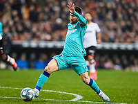 25th January 2020; Mestalla, Valencia, Spain; La Liga Football,Valencia versus Barcelona; Lionel Messi of FCB controls the ball as he pushes forward