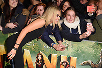 Tallia Storm<br /> arriving for the &quot;Jumanji: Welcome to the Jungle&quot; premiere at the Vue West End, Leicester Square, London<br /> <br /> <br /> &copy;Ash Knotek  D3358  07/12/2017
