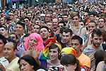 Inauguration of the gay pride festivities held MADO2012 in the Madrid district of Chueca. Several members of the gay and lesbian of Spain..(Alterphotos/Ricky)
