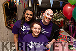 Volunteers, Amy Roche, Ciara Samy and Niall Fitzgerald working behind the scenes at the Down Syndrome Tea Party fundraiser in the Ashe Hotel on Easter Sunday.