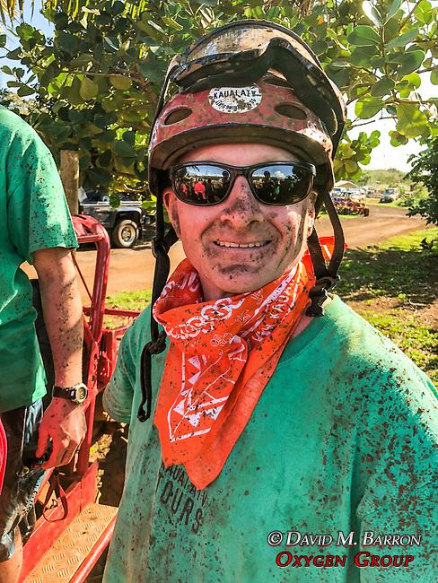 Adam After Mud Buggie Ride