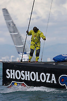 Team Shosholoza -  - VALENCIA LOUIS VUITTON ACT13 - DAY 5 - FLEET RACE 6 & 7 - 2007 abr 07