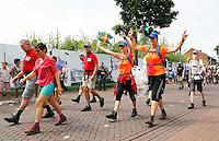 Nederland  Cuijk  2016. De Vierdaagse van Nijmegen.  Foto Berlinda van Dam / Hollandse Hoogte