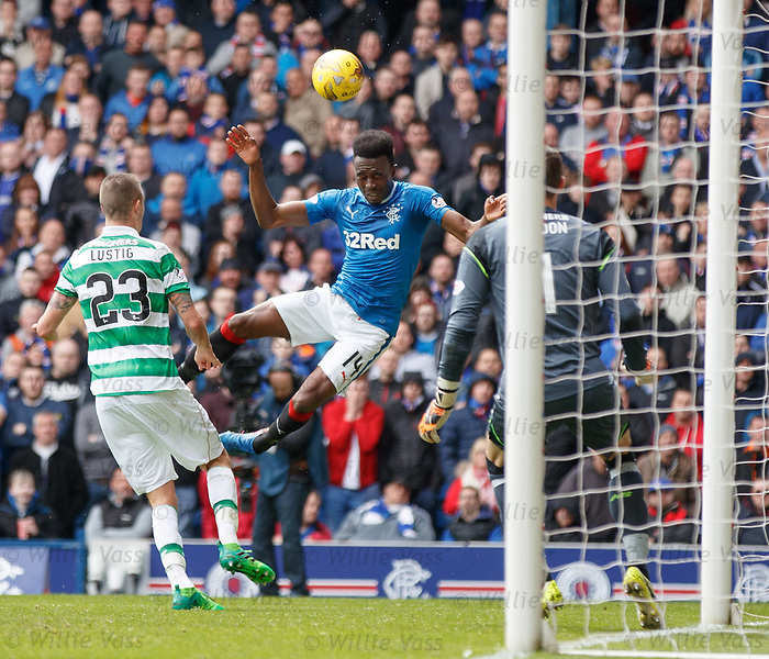 Joe Dodoo tries to get a header on goal